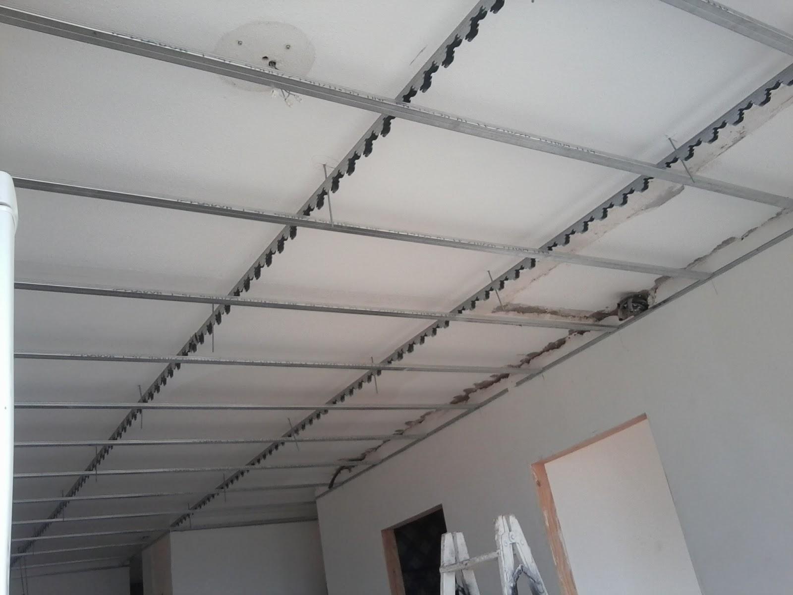 Registro falso techo pladur stunning falso techo aluminio - Poner techo de pladur ...