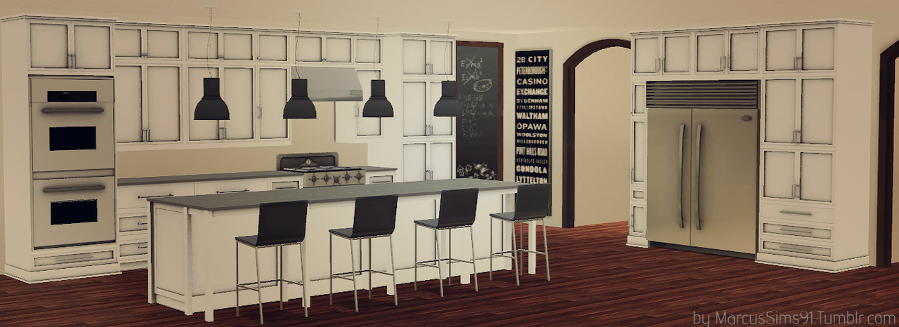My sims 3 blog carolina kitchen set by marcussims91 for Kitchen designs sims 3