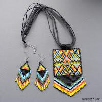 купить украшения в этническом стиле украина анабель бисер