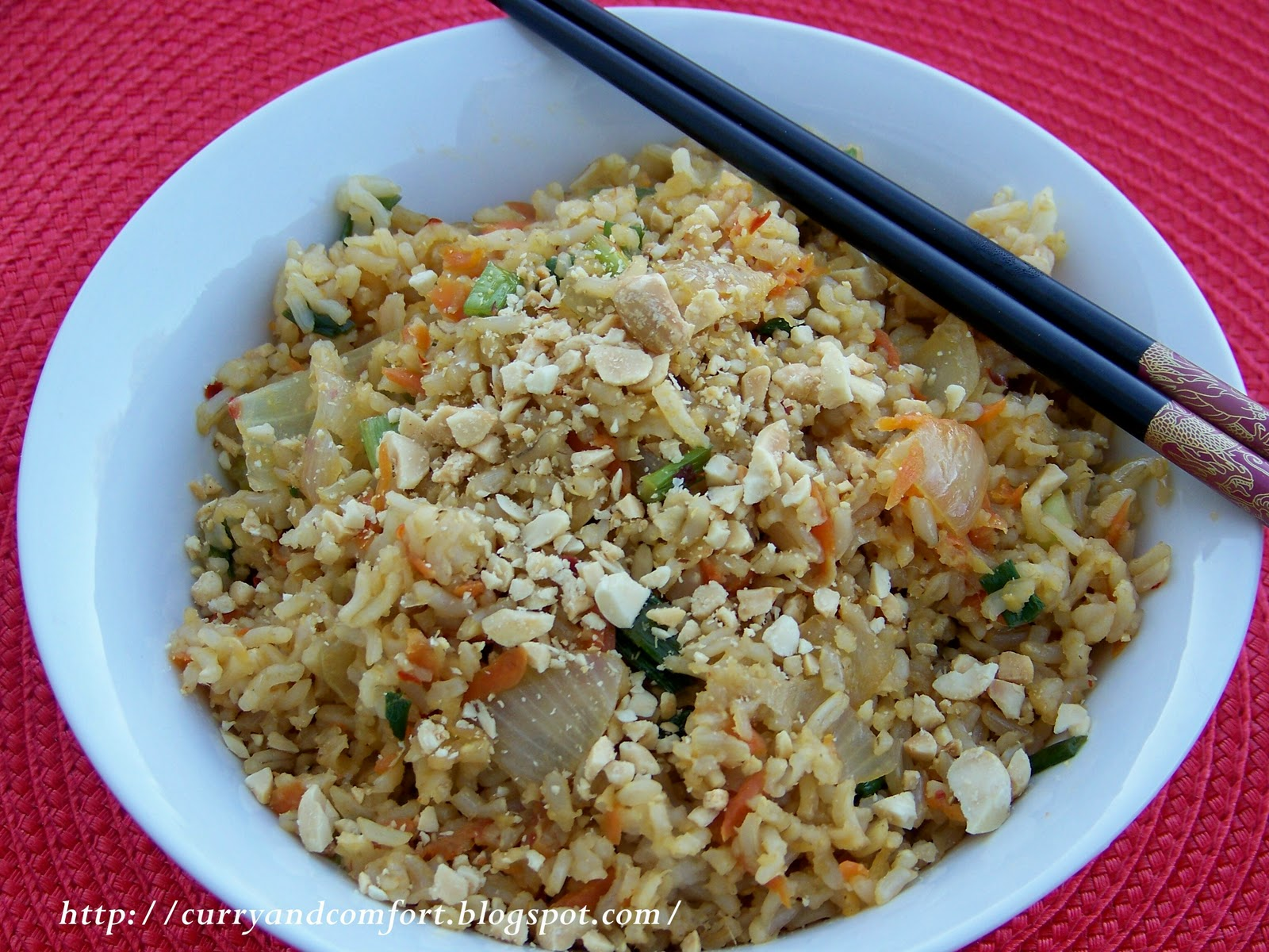 Kitchen Simmer: Chinese Vegetable Fried Brown Rice