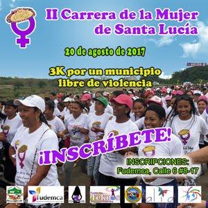 II Carrera Mujer Santa Lucía