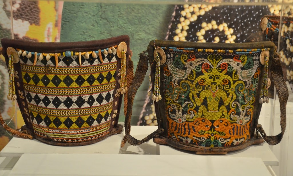 Baby carrying baskets from Sarawak
