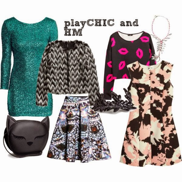 #playCHIC looks from H&M http://www.polyvore.com/cgi/set?id=140021239