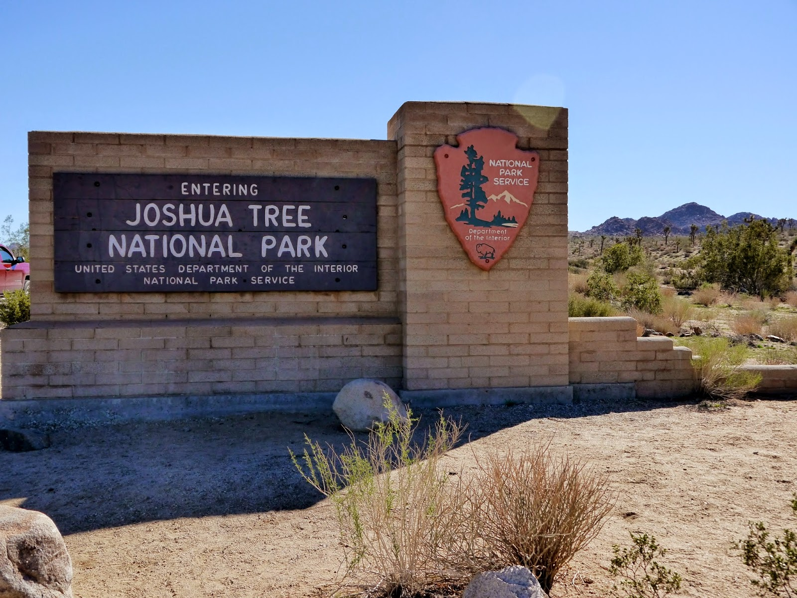 American Travel Journal Joshua Tree National Park Split Rock Trail
