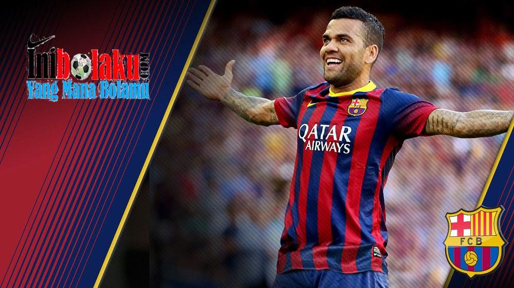 Dani Alves Tak Yakin Xavi Akan Hengkang Dari Barcelona