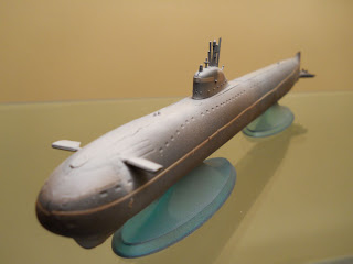 maqueta del submarino atómico ruso k-3