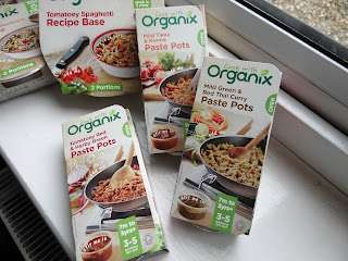 organic baby food, Cook with Organix, Organix cooking range