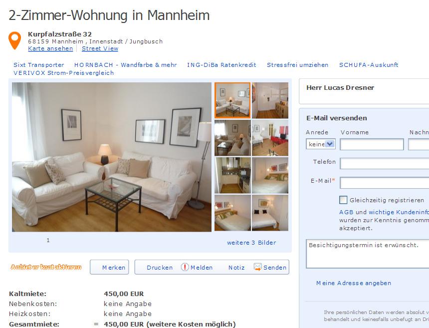 martin kappel informationen ber wohnungsbetrug. Black Bedroom Furniture Sets. Home Design Ideas