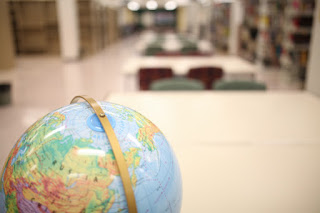 Globe in the Library