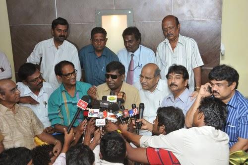 Tenaliraman Team with Telugu Association Press Meet Photo Gallery