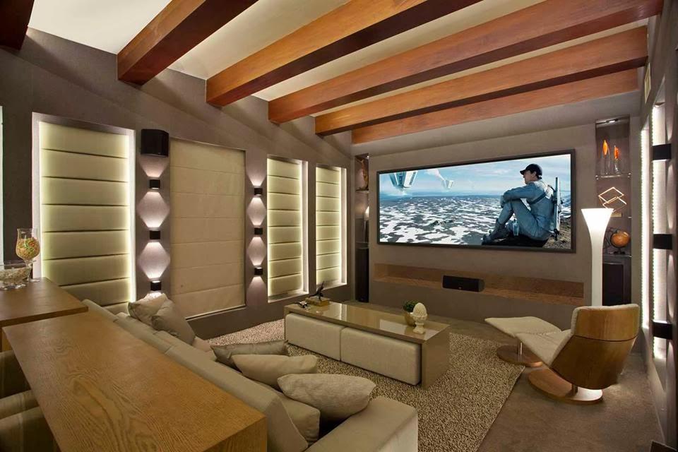 Construindo minha casa clean casa montada r stica e for Sala rustica moderna
