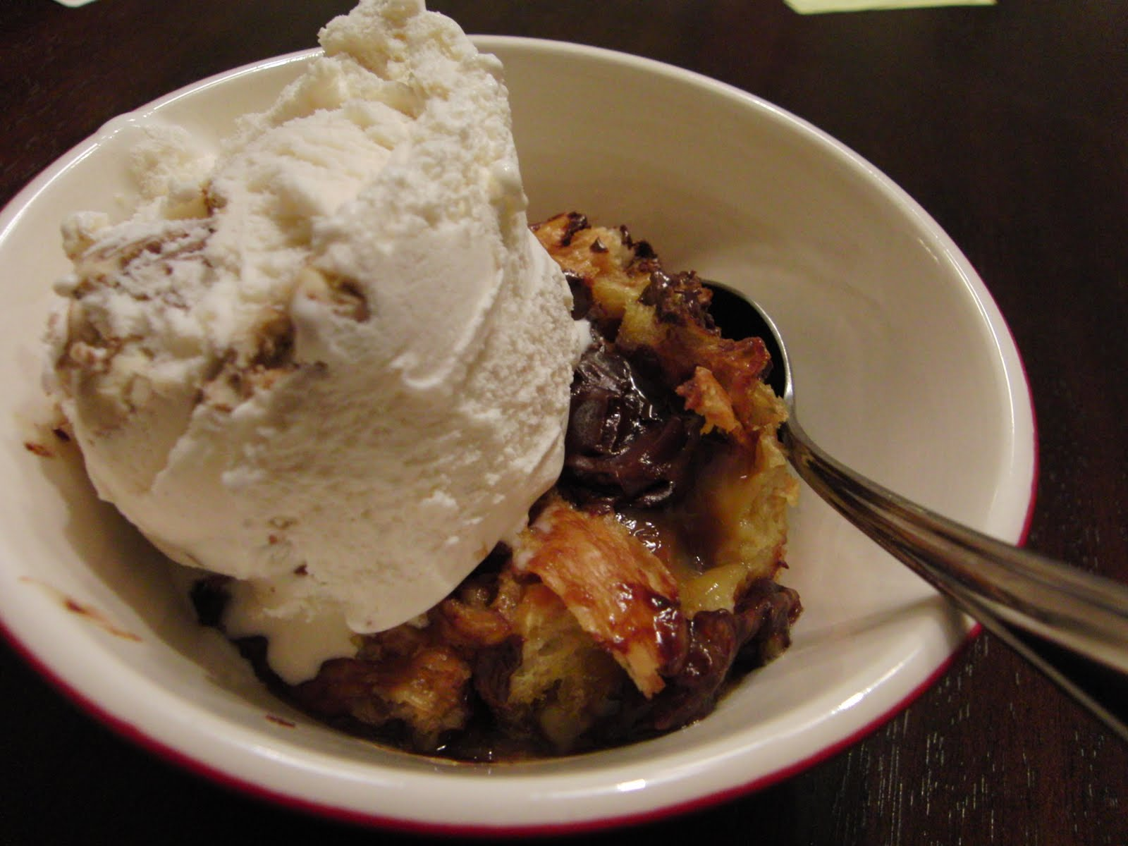 Curly Girl Kitchen: Chocolate Caramel Croissant Bread Pudding