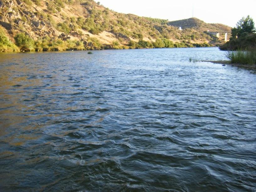 Rio Guadiana a jusante das Azenhas