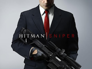 Screenshots of the Hitman: Sniper for Android tablet, phone.