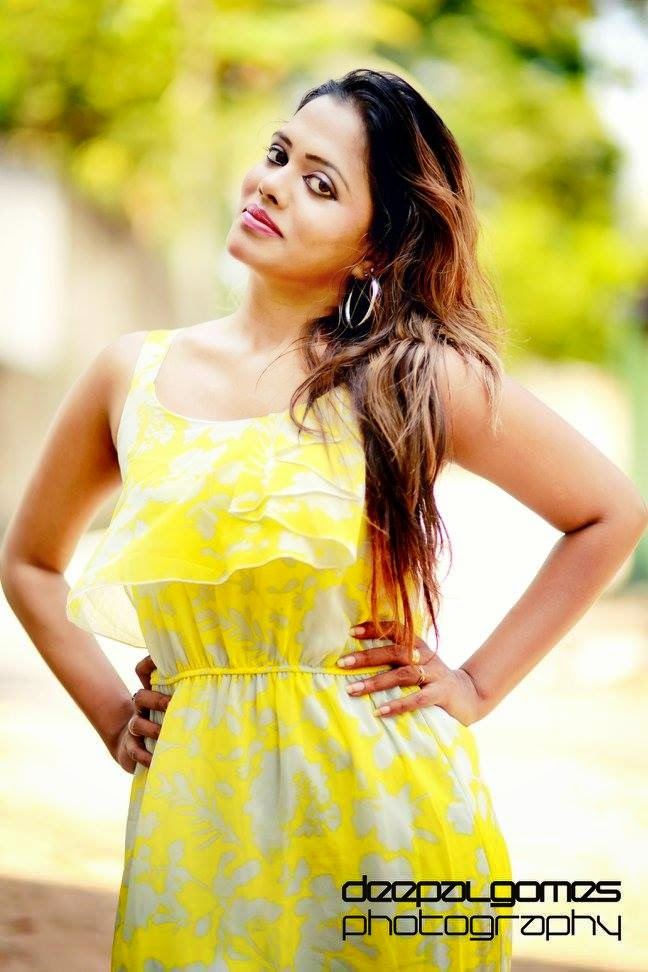 C H A N D I with Yellow Dress