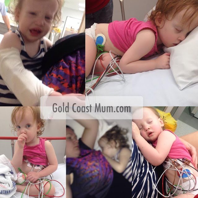Gold Coast Mum, blogger, baby, febrile convulsion, park, surfers paradise, ambulance, hospital