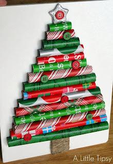 Pohon Natal Kreatif DIY