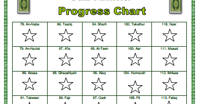 TJ Homeschooling  Progress Chart For Kids