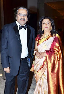 Hariharan and his wife Lalitha