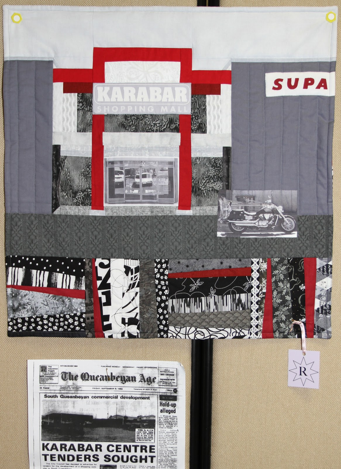 Queanbeyan Quilters Inc August 2012