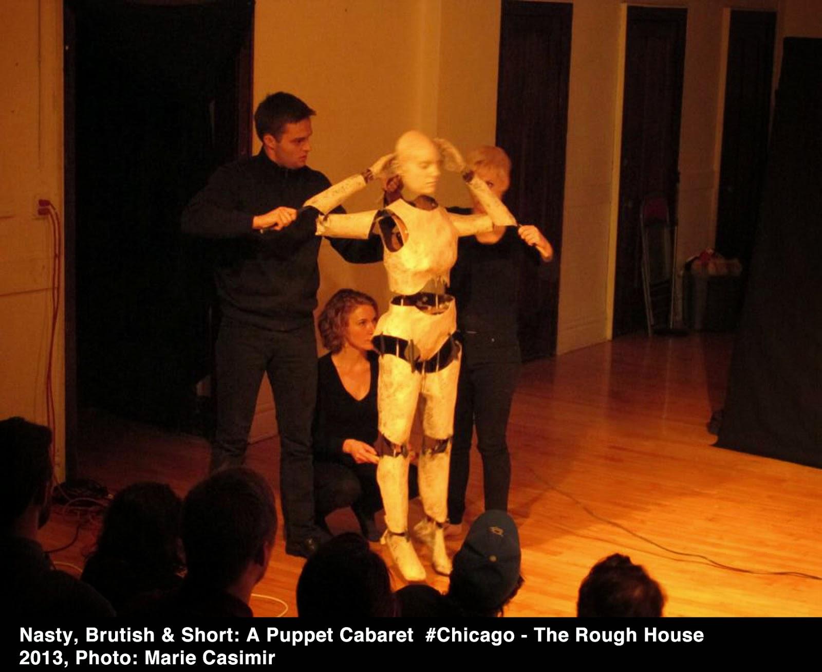 Adult puppet theatre