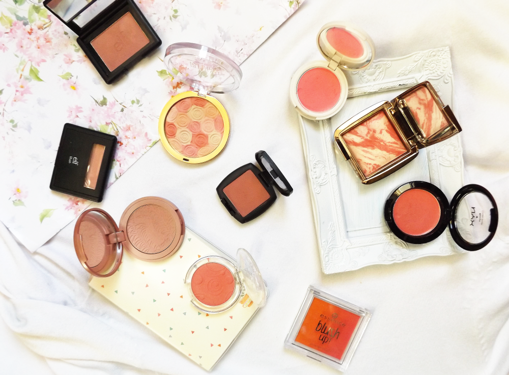 makeup blush collection tag review tarte hourglass blog