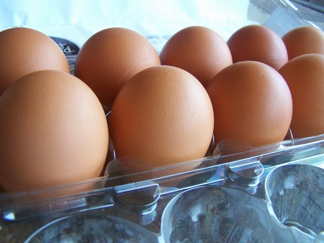 gorgeous fresh eggs