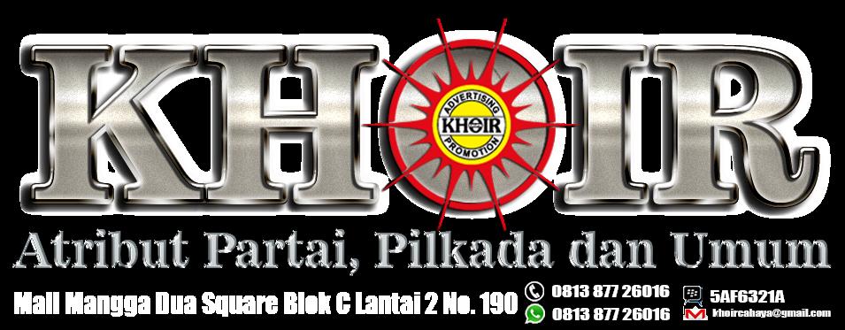 Atribut Partai Pilkada dan Promosi