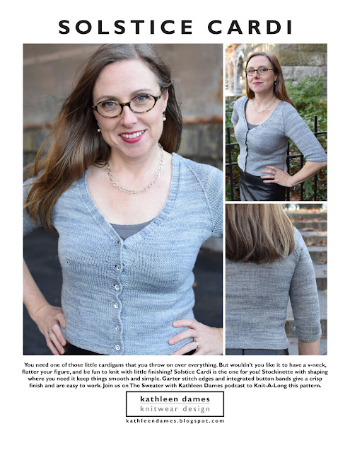 Solstice Cardi by Kathleen Dames