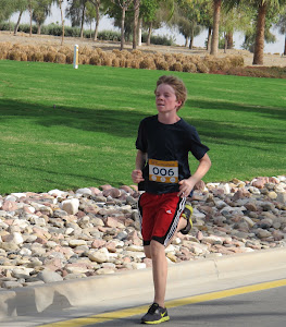 Hayden in 5k Fun Run