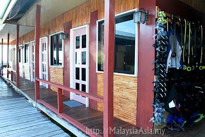 Seahorse Guest House at Mabul Sipadan