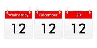 Datas trinas 12/12/2012, saiba o que é.