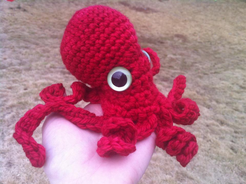 octopus amigurumi require free nov includes the internet for octopus ...