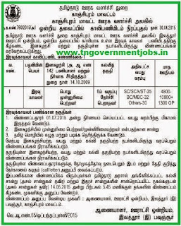 Elathur Pavunjur Panchayat Union Recruitments (www.tngovernmentjobs.in)