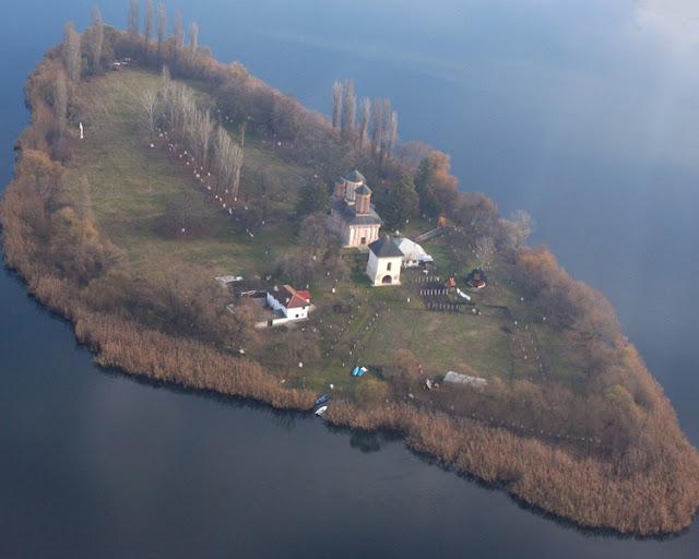 The Snagov Church - Romani