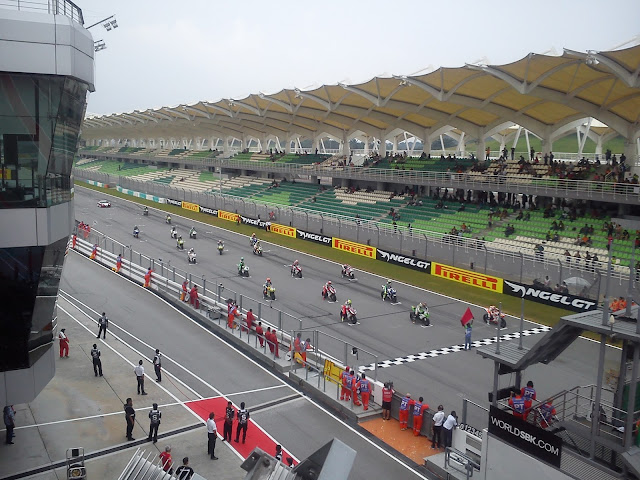 SBK15 Sepang international circuit