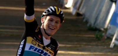Thijs Aerts champion de Belgique espoirs