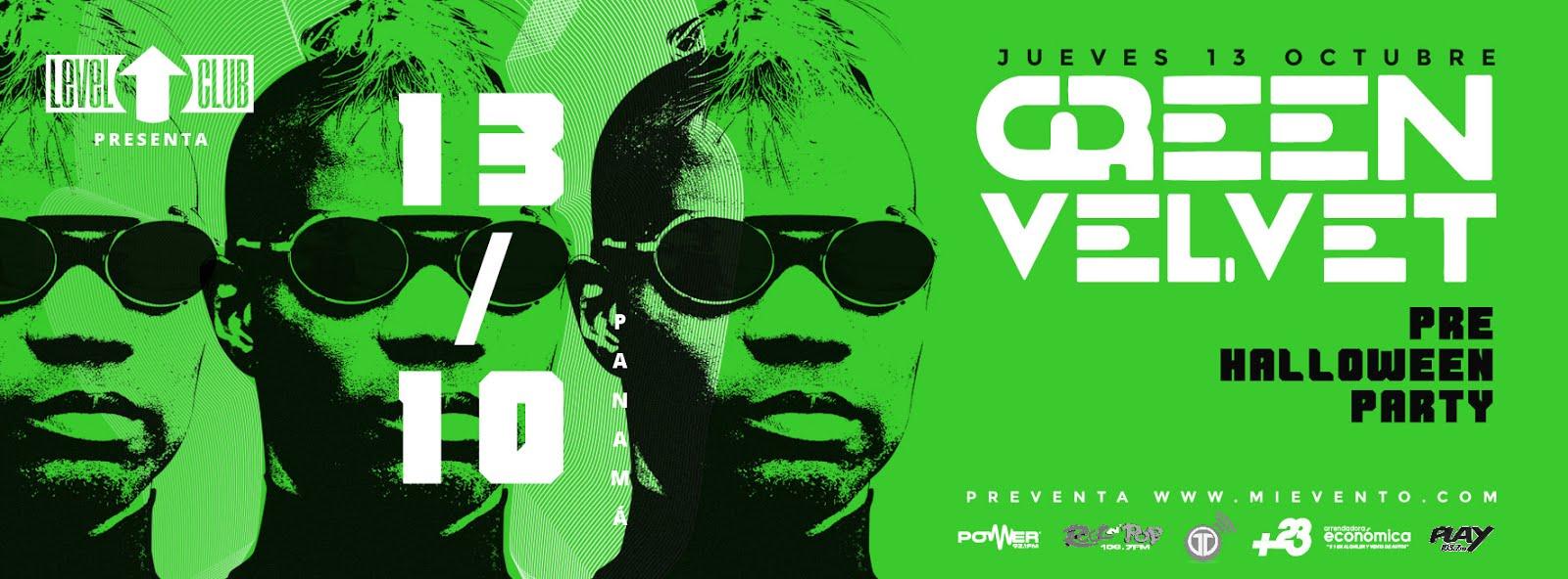 Green Velvet - Level Club
