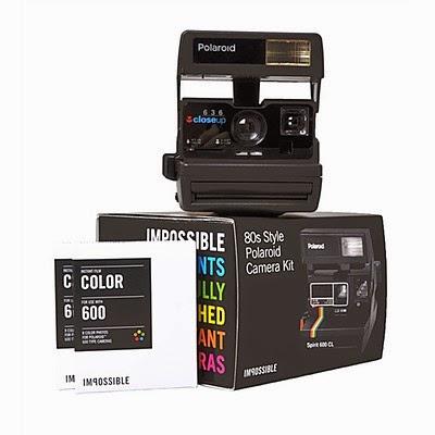 Kit Cámara Polaroid INstantánea 636
