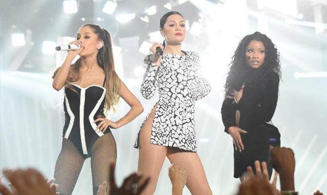 Ariana Grande, Jessie J & Nicki Minaj @ MTV 2014 VMA's | Random J Pop