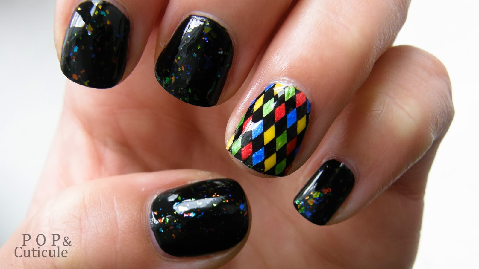 Nailstorming # Carnaval Festival Picture Polish