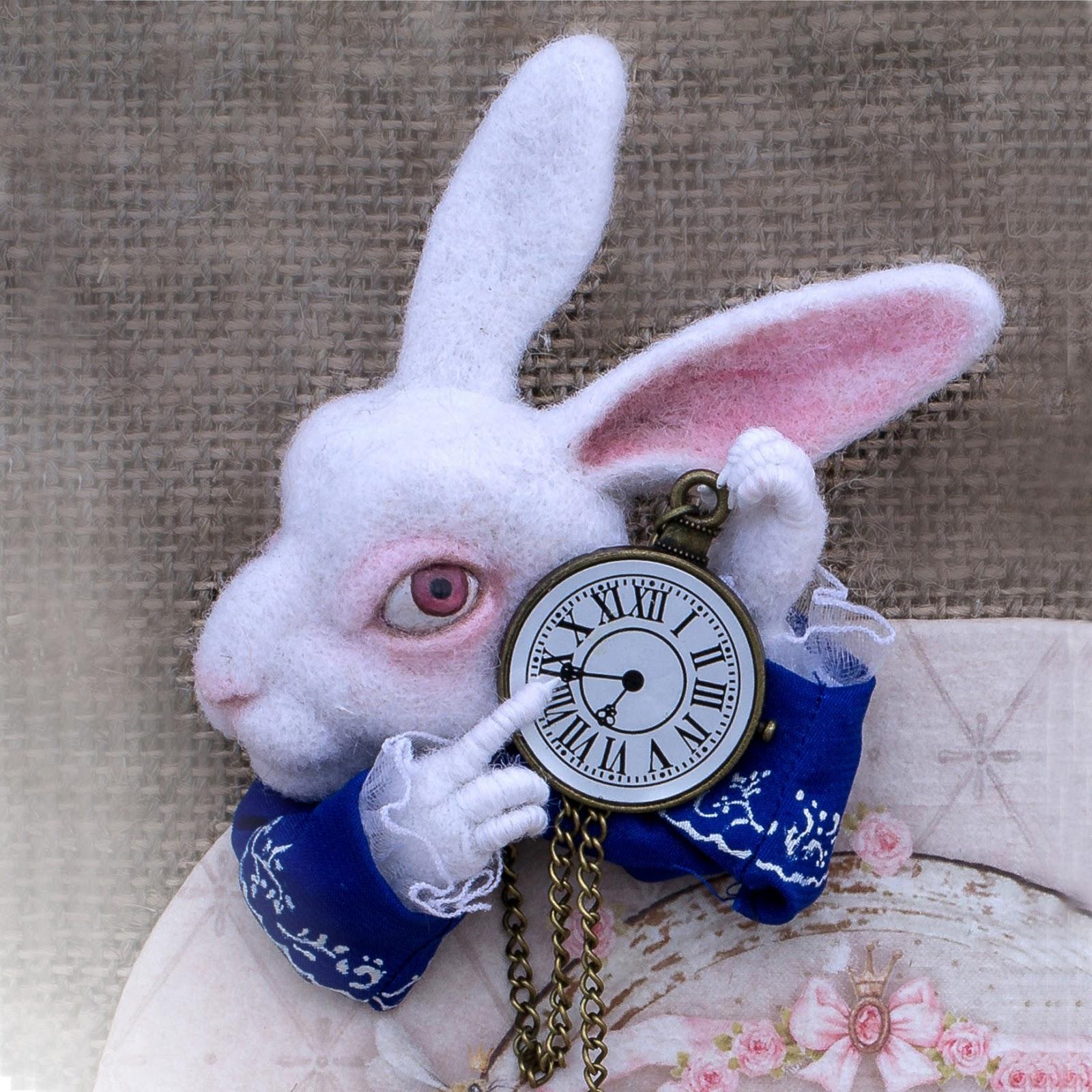 Часы кролика своими руками