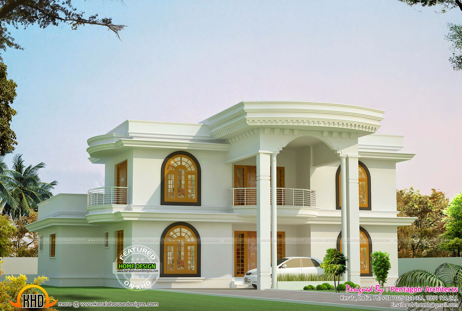 Kerala house plans set part 2 kerala home design and for Kerala style house plans with photos