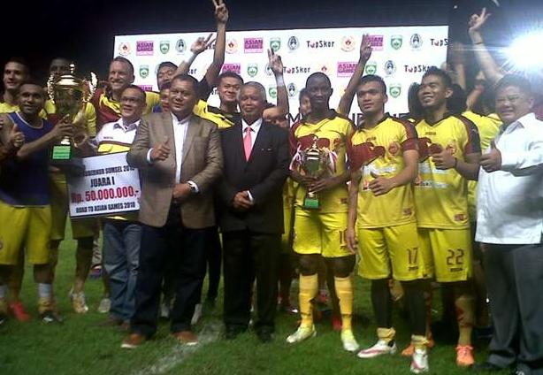 Sriwijaya FC Masih Menunggu Kepapastian PIS