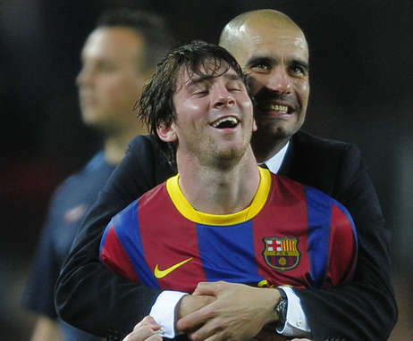 Image result for guardiola messi
