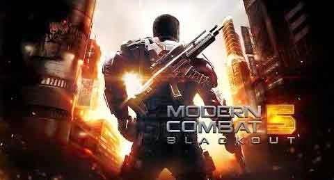 Modern Combat 5: Blackout Apk v1.0.2f