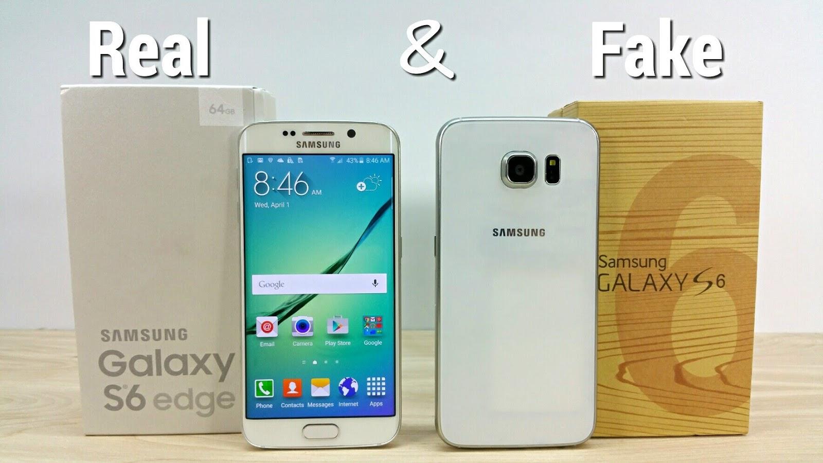 Membedakan Samsung Galaxy S6 Asli Dengan KW Melalui Info Hardware dan ...