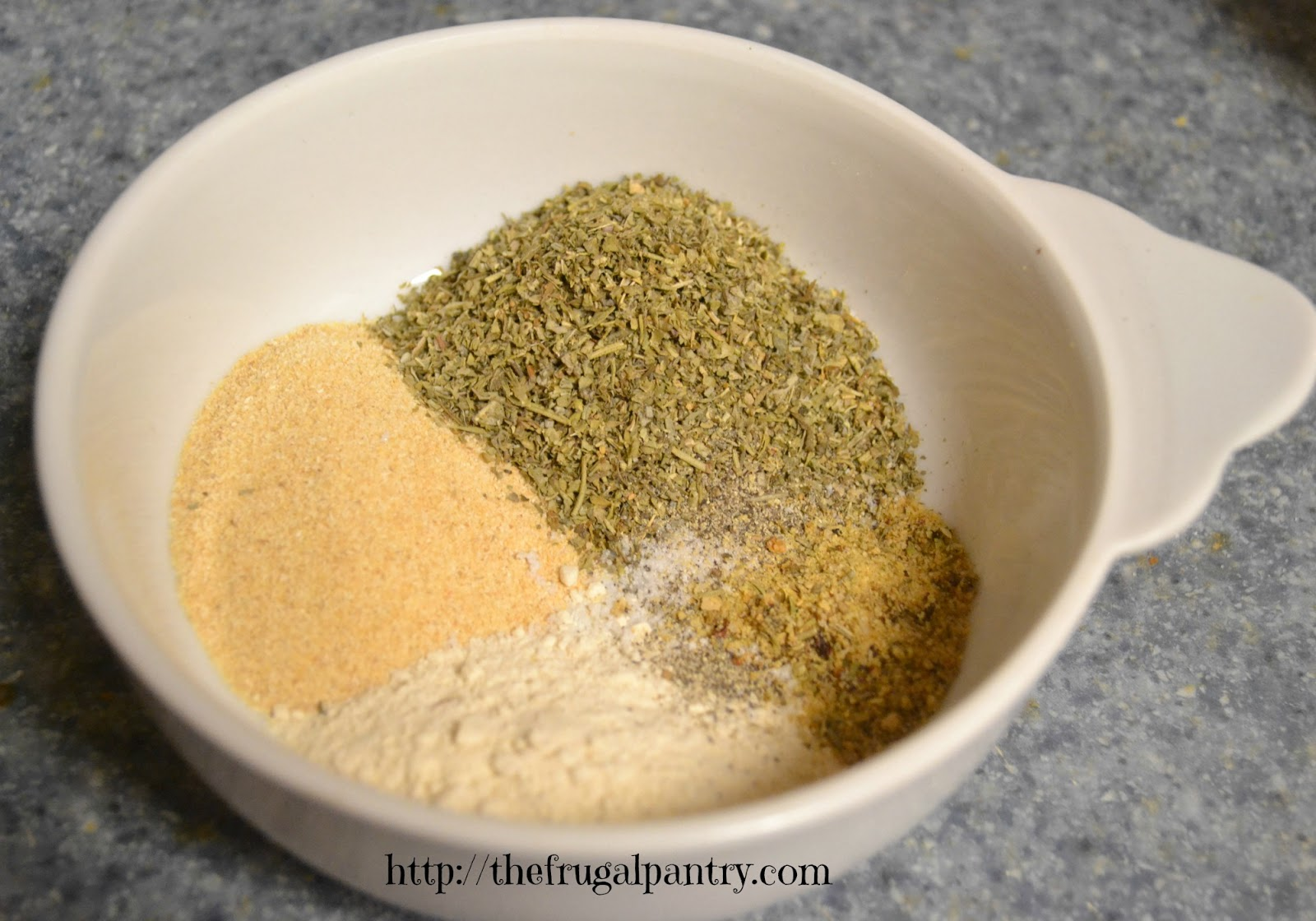 The Frugal Pantry: Italian Dressing Mix