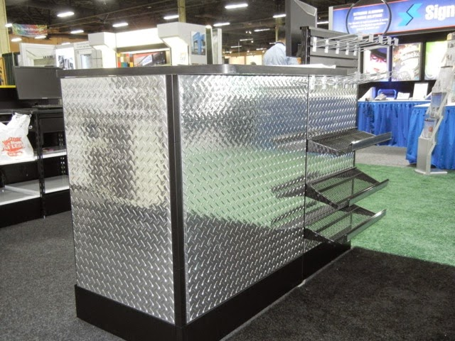 visit our website for more information & Diamond Plate Plastic Sheets for Retail displays | Chrome Plastic ...