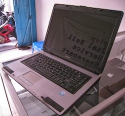 jual laptop 2nd toshiba l40